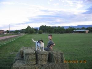 Ranch Dog and Allergic Boy!